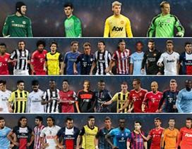 Đề cử đội hình tiêu biểu UEFA: Không có chỗ cho người Anh