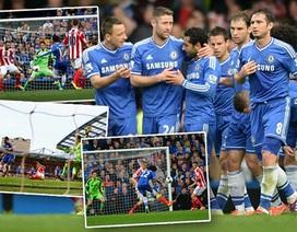 Đè bẹp Stoke City, Chelsea tạm giật lại ngôi đầu