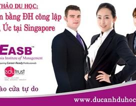 Hội thảo: Nhận bằng đại học công lập Anh, Úc tại Singapore