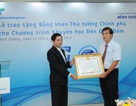 Thủ tướng tặng bằng khen cho chương trình Đèn Đom Đóm