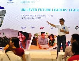 """Sinh viên hào hứng với """"Thách thức kinh doanh Unilever 2013"""""""