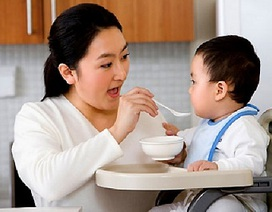 Cách phục hồi sức khỏe cho bé sau ốm