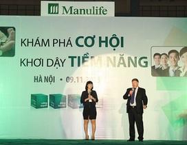 """Manulife Việt Nam tổ chức Ngày hội tuyển dụng """"Khám phá cơ hội – Khơi dậy tiềm năng"""""""