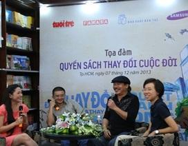 Bạn trẻ thích thú nghe nhạc sĩ Trần Tiến bàn về sách