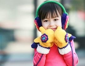 Tăng cường sức đề kháng cho bé vào mùa lạnh