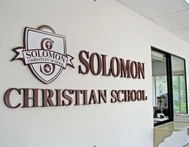 Solomon Christian School - Cánh cửa vào đại học danh tiếng Mỹ