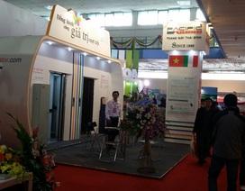 Thang máy Thái Bình đến với khách hàng Hà Nội qua triển lãm quốc tế Vietbuild