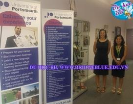 Hội thảo du học Anh Quốc: Phỏng vấn học bổng trường ĐH Portsmouth năm học 2014