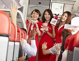 AirAsia ra mắt đường bay mới