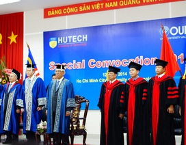 HUTECH tổ chức Lễ trao bằng tốt nghiệp Thạc sĩ QTKD - ĐH Mở Malaysia