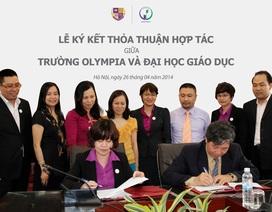 Thỏa thuận hợp tác chiến lược giữa ĐH Giáo dục và trường Olympia