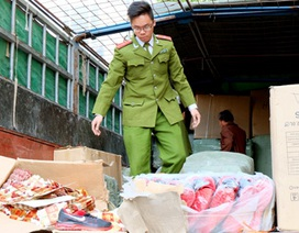 Hà Nội: Hơn 40 tấn hàng lậu bị thu giữ