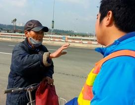 Xử phạt hàng chục trường hợp dừng đỗ xe trên cầu Nhật Tân