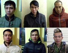 Hà Nội: Ổ nhóm mua bán ma túy, súng quân dụng bị bắt