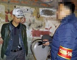 Hà Nội: Vừa đi tù về lại bị 141 bắt vì tàng trữ ma túy