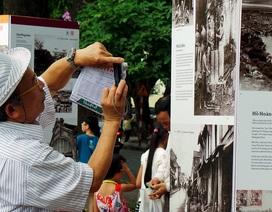 """Những bức ảnh """"kể chuyện"""" lịch sử bên bờ hồ Hoàn Kiếm"""