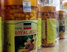 """Hà Nội: Giật mình phát hiện 20 tấn sữa ong chúa làm đẹp da """"dỏm"""""""