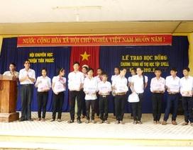 Học bổng SPELL đến với học sinh Quảng Nam