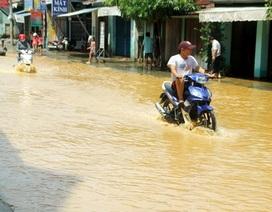Hơn 1.500 ngôi nhà bị ngập, thêm 1 người bị lũ cuốn trôi