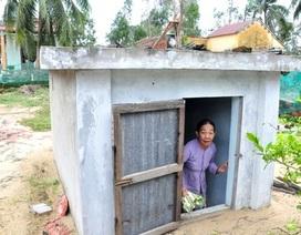 """Thăm những căn hầm trú bão của phụ nữ """"làng Chanchu"""""""