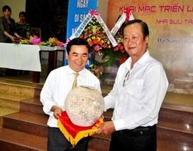 Ngày Di sản Việt Nam, bảo tàng tiếp nhận thêm hiện vật quý