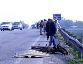 Gây tai nạn chết người, tài xế xe đông lạnh bỏ chạy