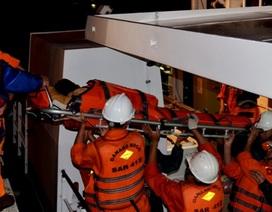 Tàu nước ngoài ngăn cản tàu cứu hộ cứu ngư dân bị nạn