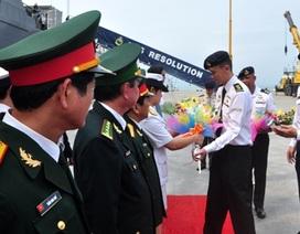 Tàu Hải quân Singapore thăm hữu nghị Đà Nẵng