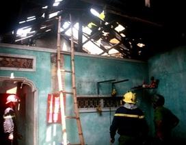 Cháy nhà vắng chủ, nhiều tài sản bị thiêu rụi