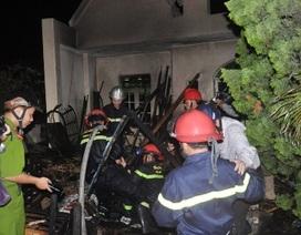 Sắc thuốc bằng bếp lửa, tầng 3 căn nhà bốc cháy dữ dội
