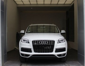 Audi Q7 2013 tại Việt Nam có giá từ 3,3 tỷ đồng