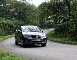 Honda CR-V tại Việt Nam trang bị thêm camera lùi