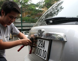 Ôtô từ tỉnh khác chuyển về Hà Nội phải chịu lệ phí đăng kí mới