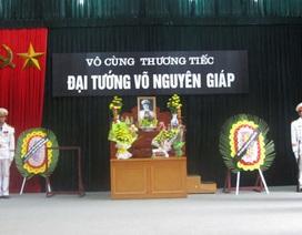Điện Biên lập ba ban thờ Đại tướng Võ Nguyên Giáp