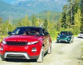 Land Rover Evoque mới lớn hơn nhưng nhẹ hơn.