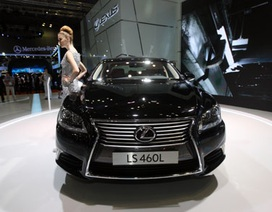 Lexus LS 460 L có gì để thách thức đối thủ tại Việt Nam?