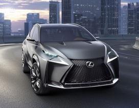 Lexus LF-NX và RC coupé cho Tokyo Motor Show
