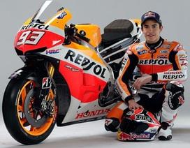 Đương kim vô địch Moto GP - Marc Marquez gãy xương khi tập chạy cào cào