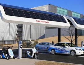 Nhật Bản xây dựng trạm sạc thống nhất cho mọi loại ôtô chạy điện