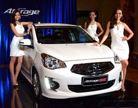 """""""Người anh em"""" của Mitsubishi Mirage ra mắt tại Malaysia."""