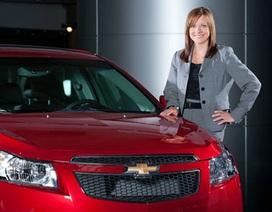 GM sẽ được chèo lái dưới bàn tay phụ nữ