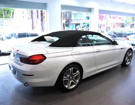 BMW Series 6 Convertible mới giá 4 tỉ đồng