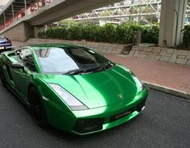 """Lamborghini Gallardo màu """"kịch độc"""" tại Hồng Kông"""