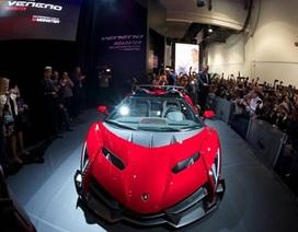 Lamborghini Veneno Roadster tái xuất với Monster Audio tại CES 2014