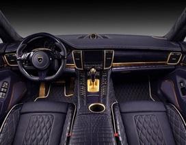 Porsche Panamera với nội thất da cá sấu