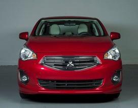 Mitsubishi Mirage sedan chính thức xuất hiện
