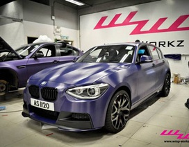 Hợp kim nhôm-nhựa làm áo mới cho BMW 1 Series
