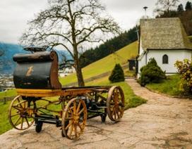 Porsche trưng bày chiếc xe đầu tiên của mình tại Đức