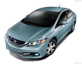 Honda ra mắt Civic 2014 phiên bản Hybrid và phiên bản dùng gas