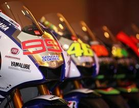 Chiêm ngưỡng chiếc xe đua MotoGP của Yamaha cùng Rossi và Lorenzo tại Sepang